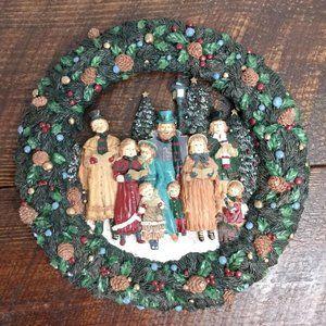 Kurt S. Adler, Inc. Vintage 1993 Resin 12.5 Wreath
